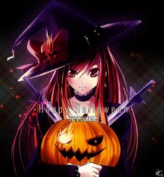 Erza is ready for Halloween Anime Halloween, Halloween Fairy, Halloween Photos, Happy Halloween, Image Fairy Tail, Fairy Tail Images, Fairy Tail Pictures, Fairy Tail Girls, Fairy Tail Anime
