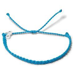 Blue Lagoon Geflochten  - Weltfreund Armbänder