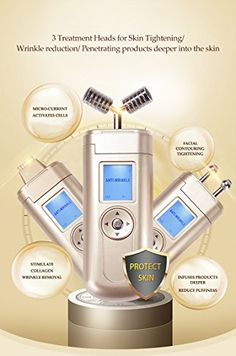 Facial Contouring 3 in 1 Machine Wrinkles Lines Infuse products deeper >>> You can find more details by visiting the image link-affiliate link. #BeautySalonEquipment