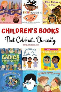 Diversity Books for Children: Teaching Kids about Differences Diversity Activities, Book Activities, Childrens Books, Books For Children, Children Raising, Kid Books, Baby Books, Toddler Books, Teaching Kids
