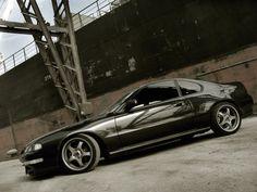 Black Honda Prelude Si