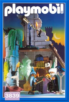 PLAYMOBIL� set #3839 - Wizard's Workshop
