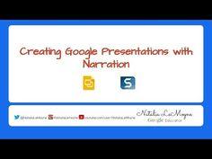 Narration Over Google Slides - YouTube