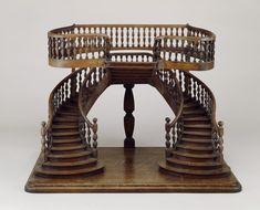 Marvel at Tiny, Perfect Staircases Made by a Secret Society of French Woodworkers - Atlas Obscura