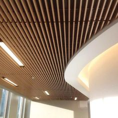 basement ceiling ideas with removable bead board 2018 Basement ceiling ideas Bas. basement ceiling ideas with removable bead board 2018 Basement ceiling ideas Basement remodel Drop Wood Slat Ceiling, Baffle Ceiling, Wooden Ceiling Design, Low Ceiling Basement, Home Ceiling, Wooden Ceilings, False Ceiling Design, Ceiling Panels, Modern Ceiling