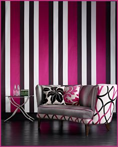Vertical Strips To Make Low Ceiling Higher, Dramatic Stripes Work With  Moroccan Style. Find This Pin And More On Home Design Story By TeamLava ...