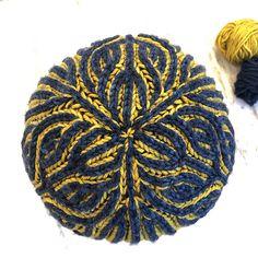 Ravelry: Valkyrie Hat pattern by Jennifer Shiels Toland Knitted Fabric, Knitted Hats, Hat Making, Slow Fashion, Knitting Needles, Crochet Hooks, Ravelry, Winter Hats, Wings