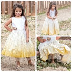 Glowing Golden Beauty Shimmer Party Dress for by SunLoveShirts