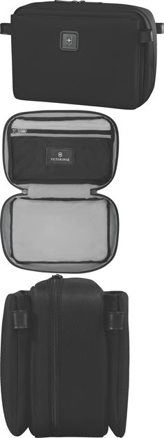 Other Travel Accessories 93839: Victorinox Parcel Zip-Around Toiletry Kit Organizer Lexicon 2.0 Black 601202 -> BUY IT NOW ONLY: $60 on eBay!