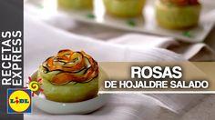 Rosas De Hojaldre Salado - Recetas Express