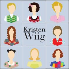 LOVE Kristin Wiig! I'm so sad she left SNL, but hopefully we'll see her in a ton of new movies as a result!