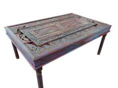 Antique Doors Dining Table Teak Carved Chakra Red Green Patina 74 Mogul Interior,http://www.amazon.com/dp/B00D1SJST2/ref=cm_sw_r_pi_dp_cUhzsb1MTEHBBZ85