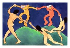 Dance with The Muppets #Matisse / La Danza