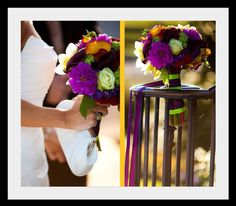 Summer Wedding Colors Schemes | ... color scheme fit into her fall wedding by adding deep red and orange