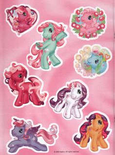 My Little Pony Stickers, Cute Stickers, Vintage My Little Pony, Little My, Filly, Pinturas Disney, Look At My, Little Poney, Crybaby