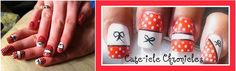 Check out this website for cute corset style nails.  Love it! Will try for better pic.