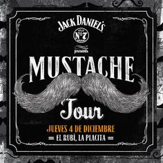 Jack Daniel's Mustache Tour @ El Rubí, Santurce #sondeaquipr #jdmustachetour #elrubi #laplacita #santurce #sanjuan