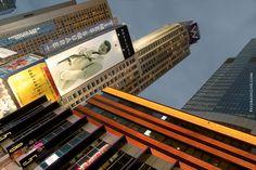 Sean John billboard, Times Square Photo
