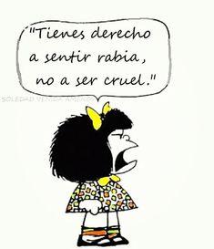 Mafalda Quotes, H Comic, Quotes En Espanol, Love Deeply, More Words, Spanish Quotes, Texts, Mafia, Sayings