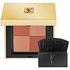 Yves Saint Laurent - BLUSH RADIANCE - Radiant Blush in 1 - bronze sheen/ matte peachy nude  #sephora
