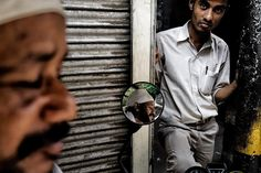 Old Delhi India   October 13 2015  Old city market. Had some chai with these guys. Been shooting video all morning before I leave Delhi again.  #photojournalism #documentary #reportage #streetphotography #delhi #india by benlowy