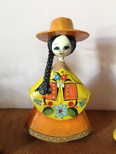 MEXICAN FOLK ART Paper mache by AnnmarieFamilyTree on Etsy