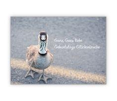 Gans, Gans liebe Geburtstags Glückwünsche - http://www.1agrusskarten.de/shop/gans-gans-liebe-geburtstags-gluckwunsche/