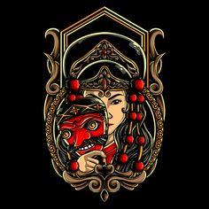 Careers Indonesian Art, Cute Couple Art, Batik Art, Free Hand Drawing, Carving Designs, Dark Fantasy Art, Chalkboard Art, Skull Art, Japanese Art