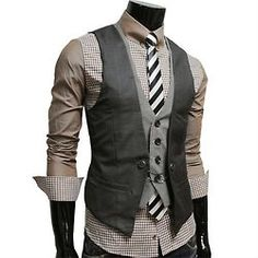 Waistcoats.  Probably the single most attractive and sexy piece of clothing in the history of ever.