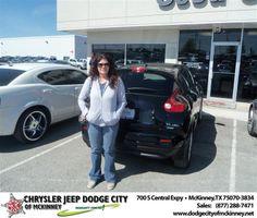 #HappyAnniversary to Denise Moer on your 2012 #Nissan #Juke from Leon Blackmon  at Dodge City of McKinney!