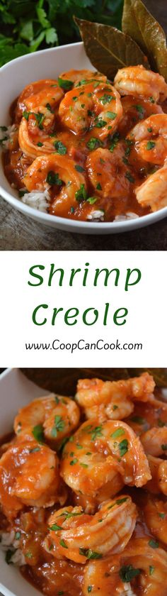 Shrimp Creole - Coop Can Cook Creole Recipes, Cajun Recipes, Fish Recipes, Seafood Recipes, Great Recipes, Cooking Recipes, Favorite Recipes, Scampi, Cajun Cooking