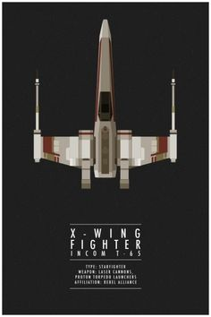Star Wars - X-Wing Fighter by Thong Lee *