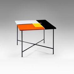 Mathieu Mategot , table plateau emaille , 1956