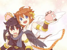 Pit And Pittoo Kid Icarus Uprising