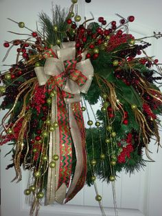 Christmas wreath by kyong.