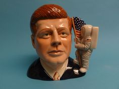 Royal Doulton Character Jug - John F. Kennedy D 7246 Large