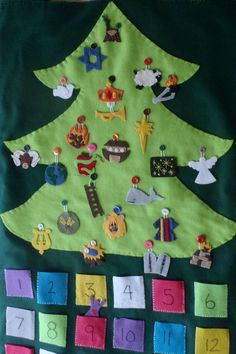 Biblical Christmas Countdown Advent Calendar (Jesse Tree) with Devotional: Pre-Order Mom LOVE this one!!!