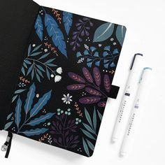 archer and olive cool fall collection pen swatches – Google Kereső Notebook Doodles, Dot Grid Notebook, Hand Lettering Practice, Hand Lettering Quotes, Bullet Journal Layout, Bullet Journal Ideas Pages, Bujo Inspiration, Journal Inspiration, Flower Typography