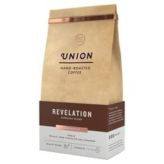 Union Coffee Espresso Blend Coffee Beans - Revelation 200g from Ocado