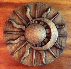 sol tallados madera - Buscar con Google
