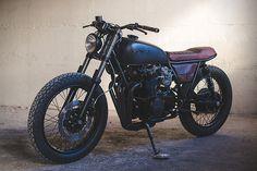 Honda CB550 Fade to Black by Federal Moto