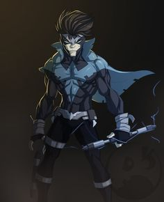 Nightwing Redesign by TheRedVampx1