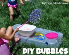 This is a really simple and easy way to make your own bubbles at home.  I highly recommend trying this because you will get those huge gorgeous bubbles that the kiddos will love. Sometimes I buy ...