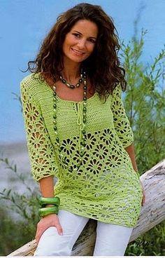 Crochet Perú: Moda Crochet Invierno 2010