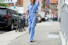 A boiler suit is a fall no-brainer. One and done people, one and done.