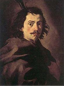 (Francesco BORROMINI né Francesco Castelli, il Bissone, 1599 -1667 architect of the barocco,rival of Bernin.