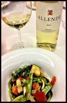 El Alma del Vino.: Finca Allende Blanco 2011 en Restaurante La Cocina de Ramón - Logroño.
