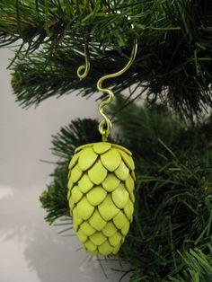 Beer Gear The ORIGINAL Beer Hop Ornament by MagsBonham on Etsy