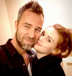 """""""The incredibly talented @hollandroden puts a genuine smile on my face. And cheek."""""""