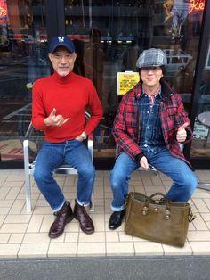 「今日から名古屋Vanilla Boxで売り子や!」の画像|たかがジーパンや! |Ameba (アメーバ)resolute jeans japan hayashi-san